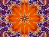 Digital, Digitale kunst, Mandala, Liebe