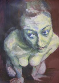 Motivieren, Unscharf, Humankapital, Acrylmalerei