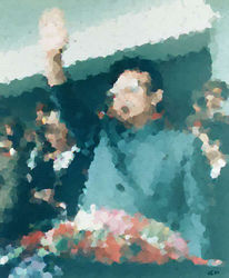 Skulptur, Sozial, Kim jong il, Malerei