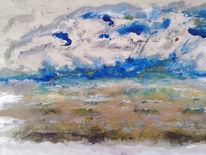 Hoffnung, Stimmung, Acrylmalerei, Landschaft