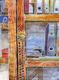 Holz, Malerei, Wohnung, Ordner