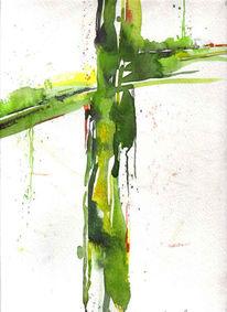 Figural, Malerei, Kreuz