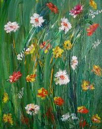 Dekoration, Blumen, Stillleben, Grün