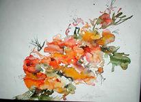 Malerei, Pflanzen, Blumen