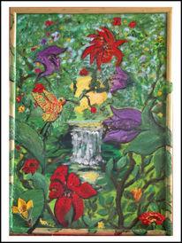 Blumen, Leben, Kolibri, Zeit