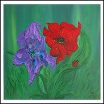 Naiv, Gras, Traum, Blumen