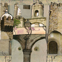 Einsamkeit, Palast, Besinnlichkeit, Extremadura
