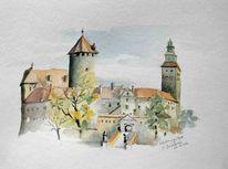 Burgenland, Burg, Österreich, Herbst
