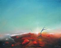 Malerei, Schaften, Wüste