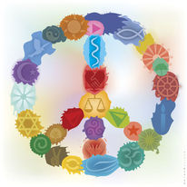 2015, Friedenssymbol, Farben, Gleichgewicht