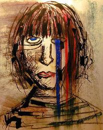 Depression, Grafik, Trauer
