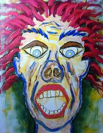 Figural, Malerei, Portrait, Selbstportrait