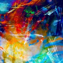 Linie, Bewegung, Farben, Digitale kunst