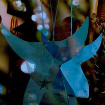 Stern, Schimmer, Engel, Blau