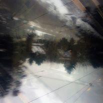 Leitung, Haus, Baum, Digitale kunst