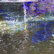 Farben, Zeichen, Wasser, See