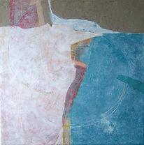 Malerei, Verdichtung, Überlagerung, Kreissegment