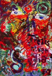 Abstrakt, Malerei, Freaks,