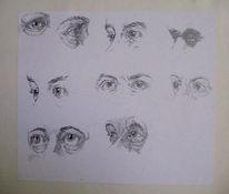 Skizze, Zeichnung, Zeichnungen, Studie