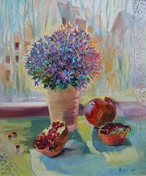 Blumen, Malerei, Stillleben, Ölmalerei