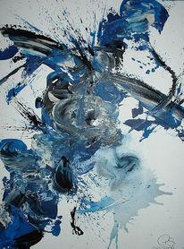 Chaos, Serie, Malerei,