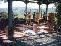 Toskana, Menschen, Italien, Akt