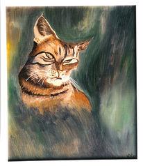 Malerei, Wildkatze