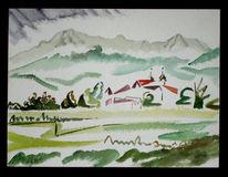 Abstrakt, Malerei, Kloster