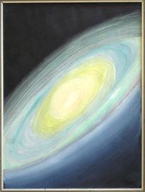 Malerei, Galaxie, Raum