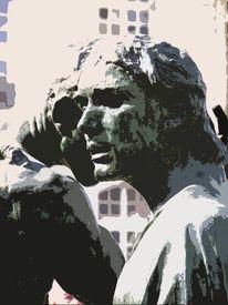 Stillleben, Paris, August, Rodin