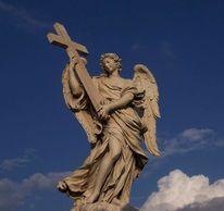 Fotografie, Castel, Blau, Rom