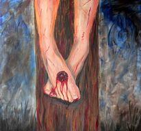 Figural, Malerei, Jesus, Füsse