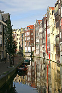 Fotografie, Gracht, Holland, Landschaft
