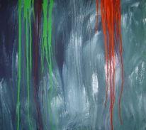 Abstrakt, Malerei, Verlauf