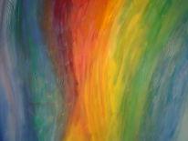 Abstrakt, Malerei, Frühlingsgefühle