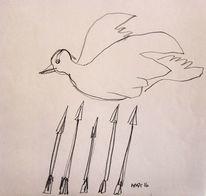 Politik, Skizze, Figural, Zeichnungen