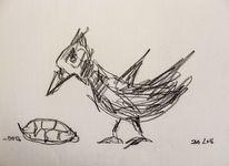 Politik, Figural, Skizze, Zeichnungen