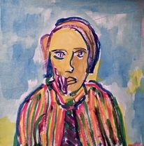 Malerei, Menschen, Skizze
