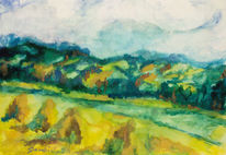 Realismus, Landschaft, Malerei