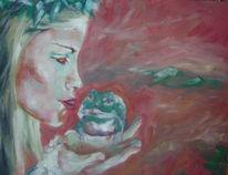 Figural, Malerei, Kuss