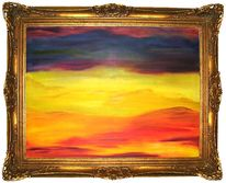 Malerei, Unendlich, Weite, Abstrakt