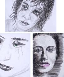 Stille, Wut, Malerei, Enttäuschen