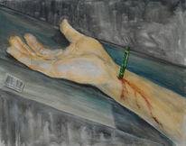 Malerei, 2000, Jahr, Skizze