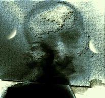 Digital, Digitale kunst, Mond, Schimmel