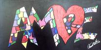 Herz, Cuore, Amore, Malerei