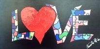Cuore, Herz liebe, Herz, Malerei