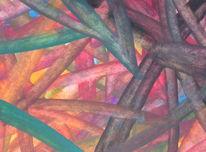 Malerei, Blau, Meer, Abstrakt
