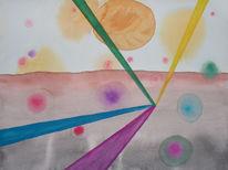 Malerei, Qualle, Mikro, Organismus