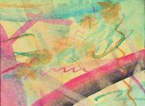 Schwingend, Malerei,