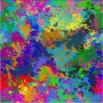 Digital, Sumpf, Ölmalerei, Wanderer